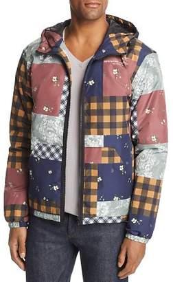 Wesc Patchwork-Print Windbreaker Jacket