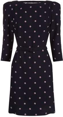 Claudie Pierlot Embroidered Floral Dress