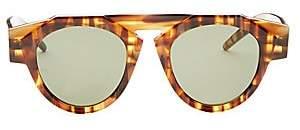 Smoke X Mirrors Women's x FIORUCCI Caramel Tortoise Round Sunglasses