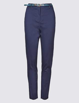 Marks and Spencer Cotton Rich Slim Leg Chinos