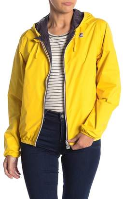 K-Way Lily Plus Double Reversible & Packable Waterproof Rain Jacket
