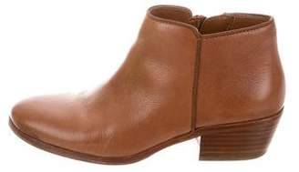 Sam Edelman Petty Saddle Leather Ankle Boots