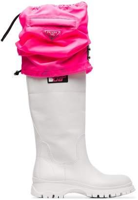 Prada Knee-High Rain Boots