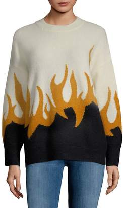 Wildfox Couture Women's Colorblock Sweater