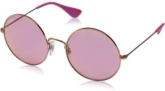 Ray-Ban Women's Metal Woman Round Sunglasses