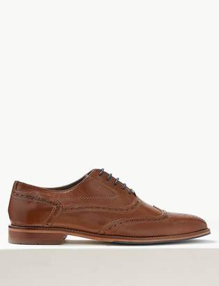 4d47808a1fe3 M S CollectionMarks and Spencer Leather Layered Sole Brogue Shoes