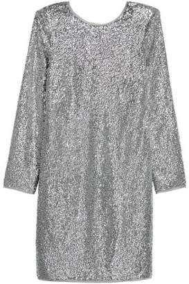 H&M Sequined Dress - Silver