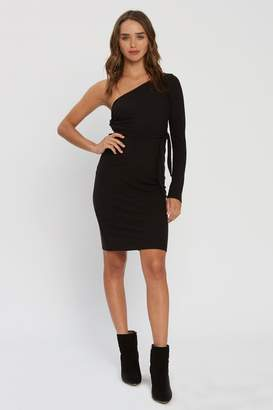 Flynn Skye Bliss Dress - Black Rib