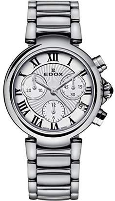 Edox Women's 10220 3M AR LaPassion Analog Display Swiss Quartz Watch