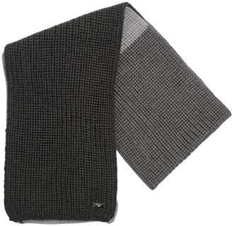 Armani Junior Tricot Blend Wool Scarf