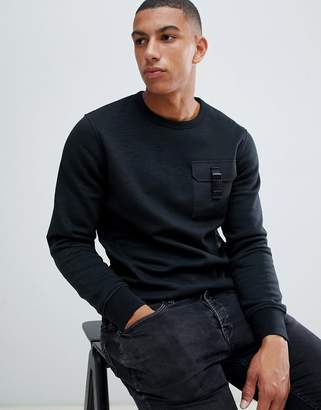 Jack and Jones Core sweatshirt with clip pocket