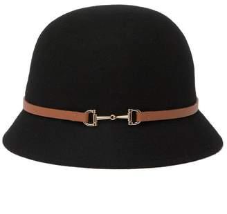 Nordstrom Rack Felt Bit Cloche Hat