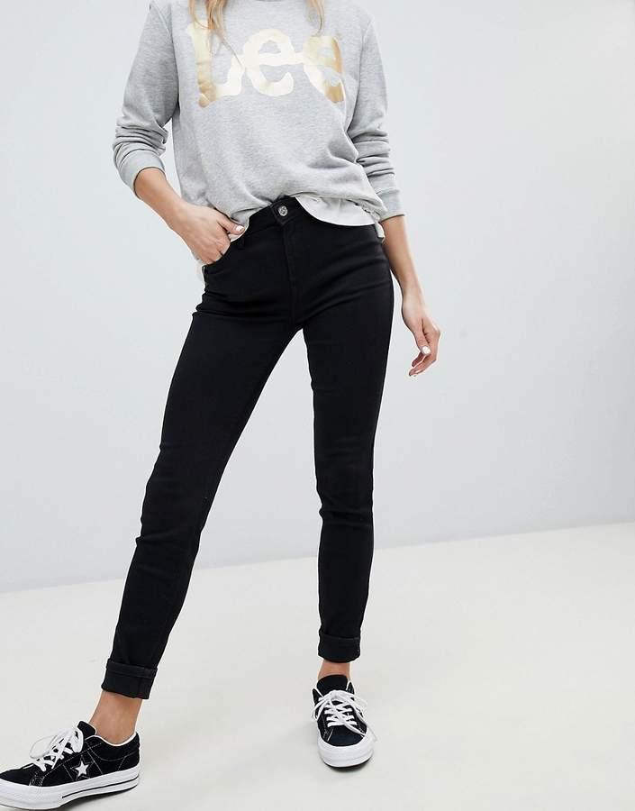 Lee Jeans Lee – Scarlett – Enge Jeans mit hohem Bund