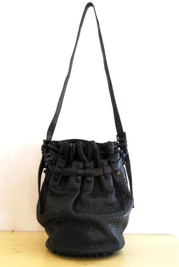 Alexander Wang - Black Diego Bucket Bag