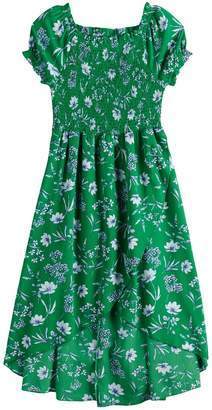 Knitworks Girls 7-16 Smocked Dress
