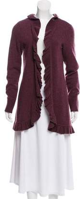 Magaschoni Cashmere Open Front Cardigan