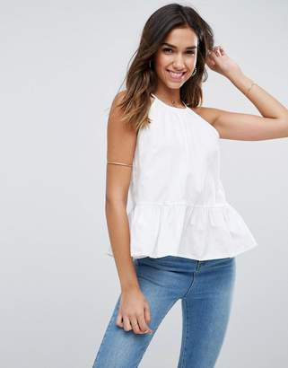 ASOS Trapeze Sun Top in Cotton $26 thestylecure.com