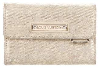 Louis Vuitton Mini Lin Shine Compact Wallet