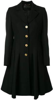 Versace Medusa pleated coat
