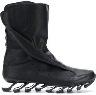 Rick Owens Adidas By abstract sole boots