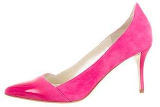 Oscar de la Renta Tami Pointed-Toe Pumps w/ Tags