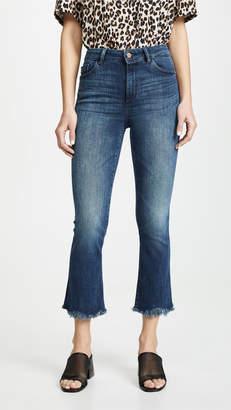 DL1961 Bridget Instaculpt Cropped Bootcut Jeans