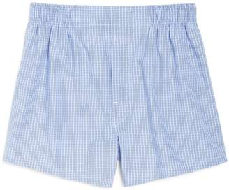 Brooks Brothers Mini Check Boxers
