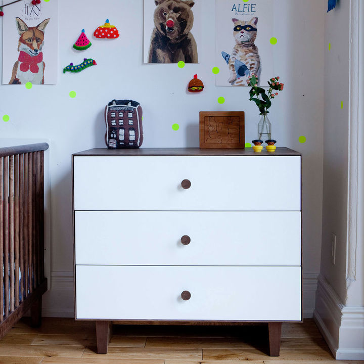 Oeuf Merlin Three-Drawer Dresser - Rhea