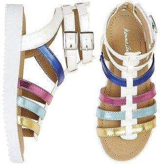 Hanna Girls Lena Gladiator Sandals $49 thestylecure.com
