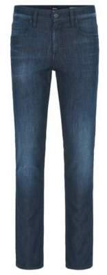 BOSS Hugo Cotton Jean, Slim Fit Orange63 Helsinki-P 38/34 Blue