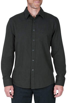 Haggar HERITAGE Long-Sleeve Oxford Weave Shirt