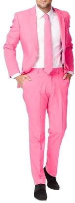 Breckelle's Mr. Pink Trim Fit Two-Piece Suit