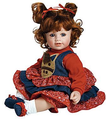"""JCPenney Adora® """"Giddy Up Girl"""" 20"""" Baby Doll"""