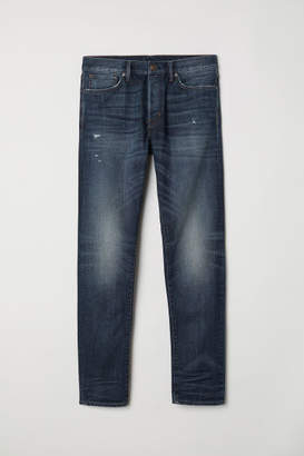 H&M Slim Straight Jeans - Blue