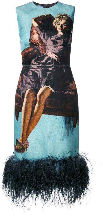 Prada Poster Girl dress