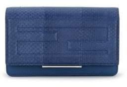Fendi Tube Elaphe& Leather Chain Wallet