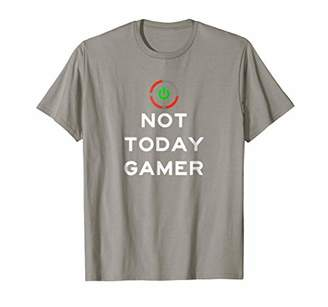 Red Ring Of Death Not Today Gamer T Shirt Video Game Tshirt