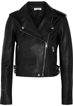 IRO - Ashville Leather Biker Jacket - Black $1,200 thestylecure.com