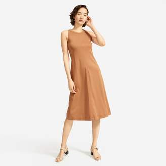 Everlane The Luxe Cotton Midi Tank Dress