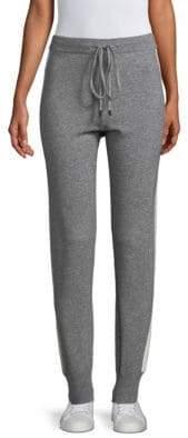 Peserico Tuxedo Striped Knit Skinny Pants