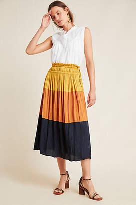 Current Air Merrigan Tiered Midi Skirt