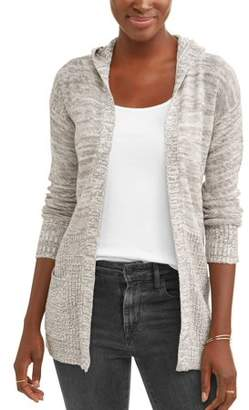 What's Next Women's Hooded Two Pocket Cardigan