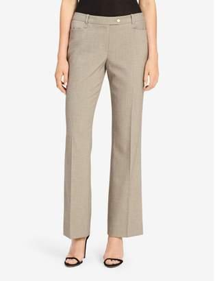 Calvin Klein straight leg textured suit pants