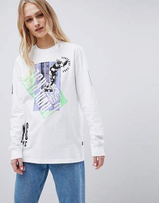 Converse Cons Skate Boarding Long Sleeve T-Shirt