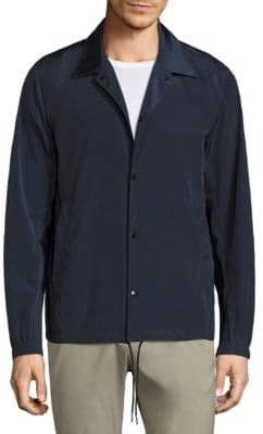 Theory Coaches Button-Front Jacket