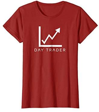 DAY Birger et Mikkelsen My Trader t-shirt with chart options stocks futures