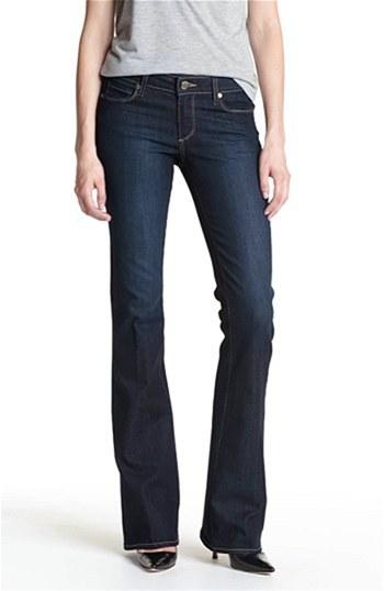 Paige 'Skyline' Bootcut Stretch Denim Jeans (Michelle)