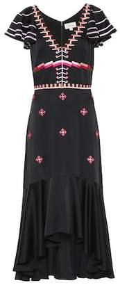 Temperley London Traveller embroidered dress