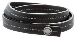 Ben Sherman Men's Leather Wrap Bracelet