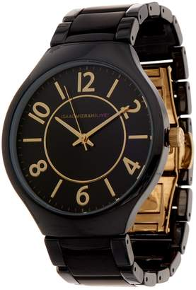Isaac Mizrahi Live! Ceramic Watch with Matte Details